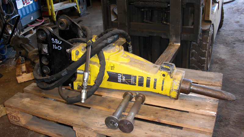 Atlas Copco, Model# SBU160, Ft Lb Class 400, Serial# 26242