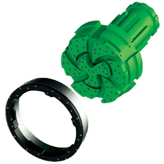 Integrated-ring-bit