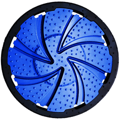 Spiral-flush