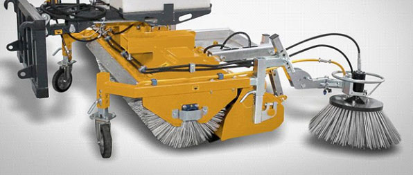 Sweepster Skid Steer Attachment
