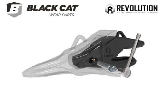 Hammerless black cat system