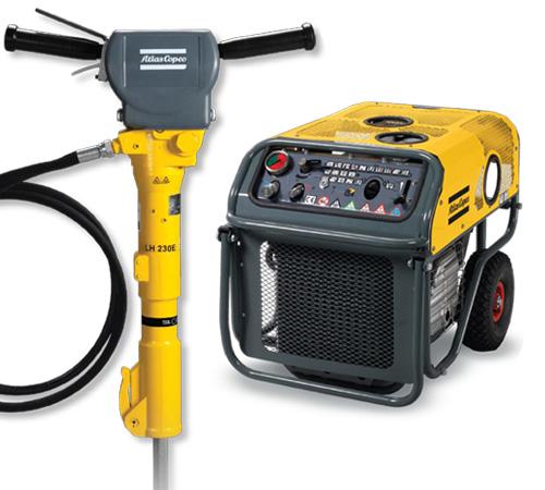 Atlas Copco Handheld Hydraulic Equipment