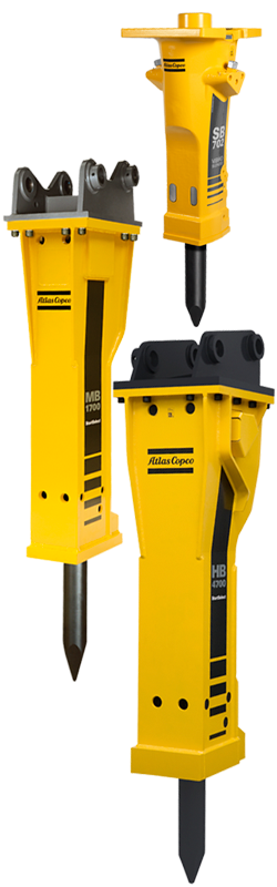 Atlas Copco Hydraulic Breakers