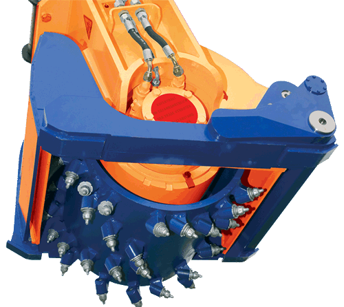Drumcutters Exactor Patch Planer