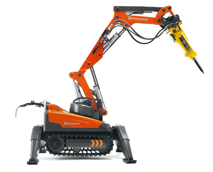 Husqvarna dxr 140 demolition robots creighton rock for Husqvarna robot