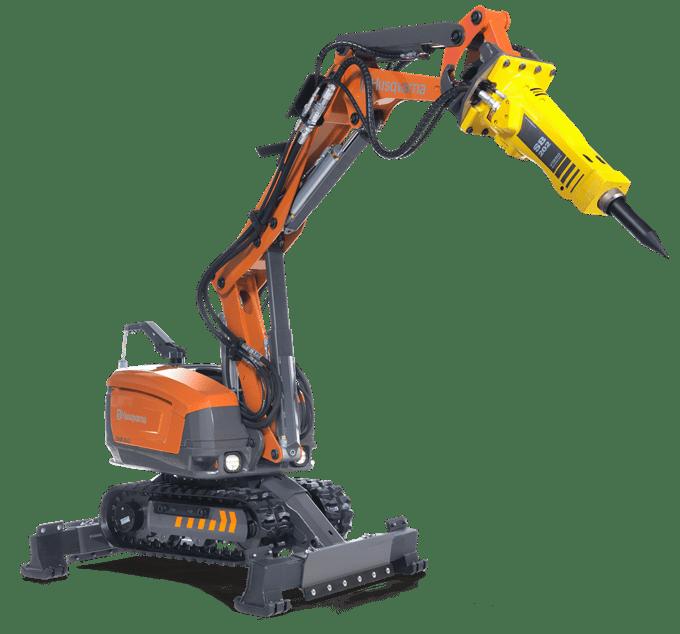 Demolition Robot Husqvarna DXR 250