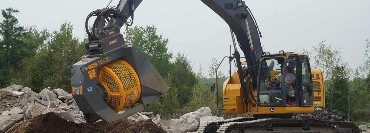 Creighton Rock Drill Ltd. Attachment Solutions