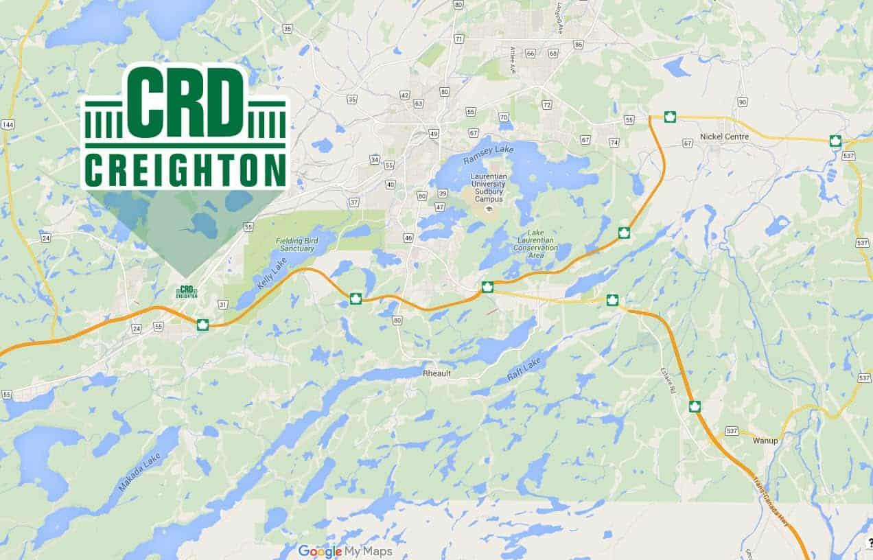 Sudbury CRD Map