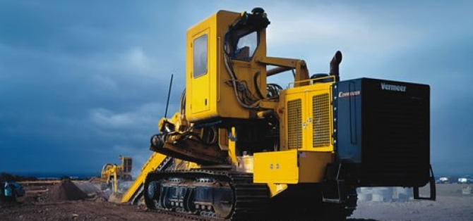 Kennametal Trenching Machine