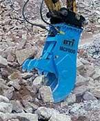 BTi Hydraulic Pulverizer Silent Demolition