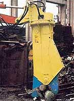 BTi Hydraulic Shears Silent Demolition