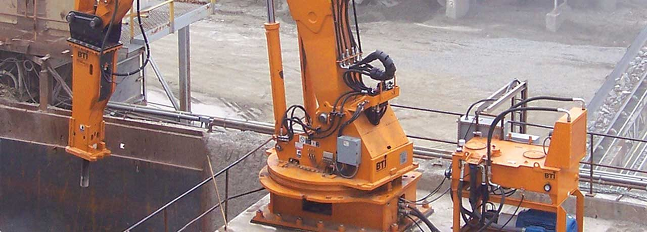 Creighton Rock Drill Ltd. Aggregate Wear Solutions
