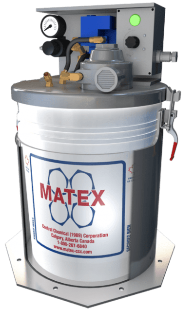 Matex fluid injector