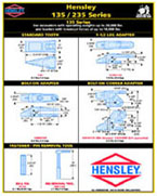 Hensley 135/235 series