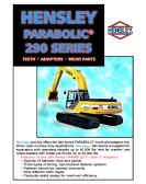 Hensley parabolic brand 2