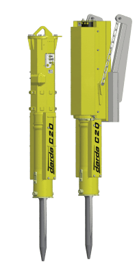 Elco Darda C20 Rock Splitter models C20C and C20V