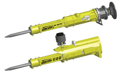 Elco Darda C20 Rock Splitter Models C20J and C20H