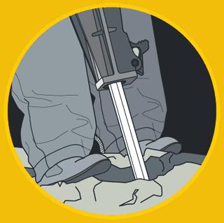concreate breaking illustration