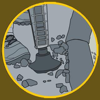 compacting illustration