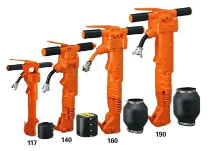 APT Pneumatic Tools 4 Paving breaker models