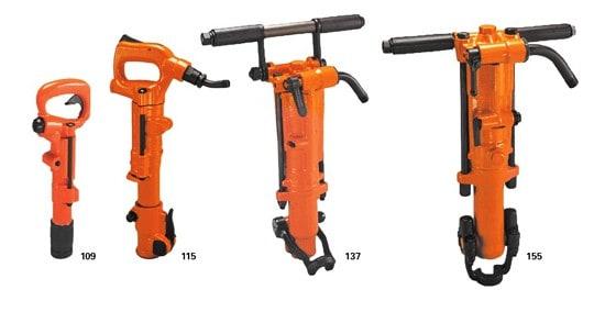 APT Pneumatic Tools Rock drills 4 models
