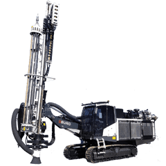 A BURG Surface Drill Rig