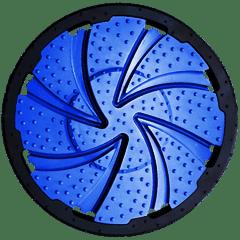 Spiral flush for drilling