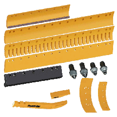 Grader and Cutting Edges