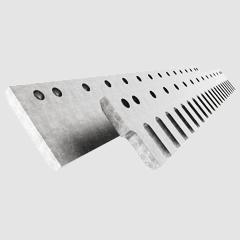 Serrated Flat blades