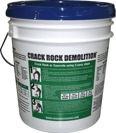 Crack Rock Demo Pail