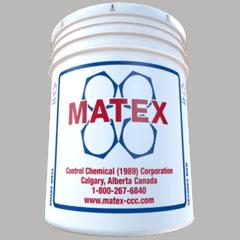 Matex White Bucket of Environmentally Safe Oil