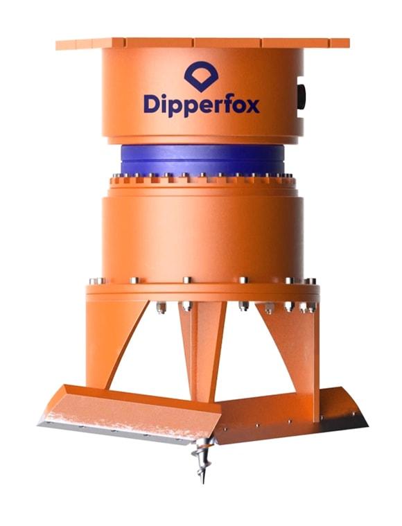 Dipperfox Stump Crusher 850