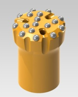 Common Size Threaded Button Bits B102-3