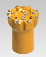 Common Size Threaded Button Bits B115-1