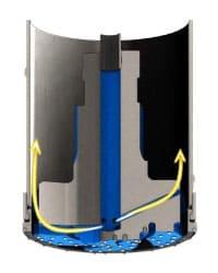 Mincon PPV Spiral Flush Cutout