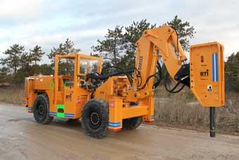 BTi Mobile Rockbreaker TM12-340
