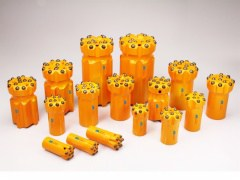 Threaded Drilling Tools Thread button bits