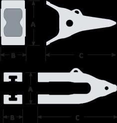 Black Cat Blades Whisler Lip System Diagram