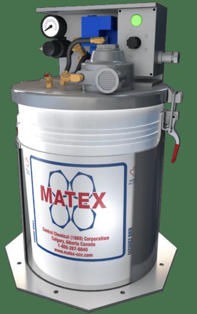 Matex fluid injector for Environmentally Safe Oil