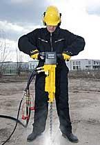 LHD 23 Handheld Hydraulic Rock Drill